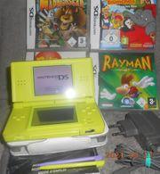 Nintendo DS lite Konsole Grün