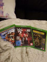 3 Spiele xbox one