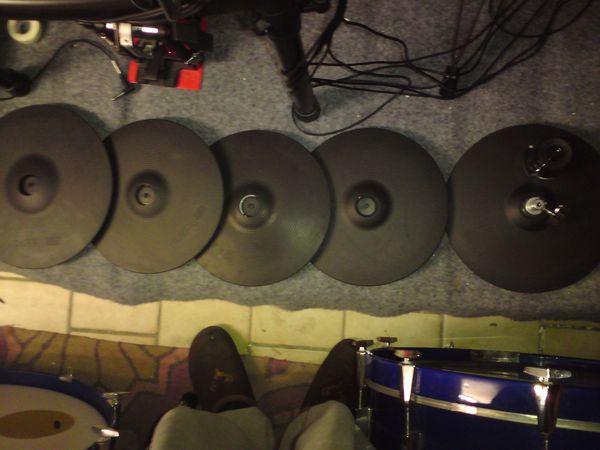 Roland E-Drum Beckenpads