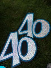 40 er Deko - Kiste