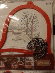 Stickpackung - Weihnachtsmotiv