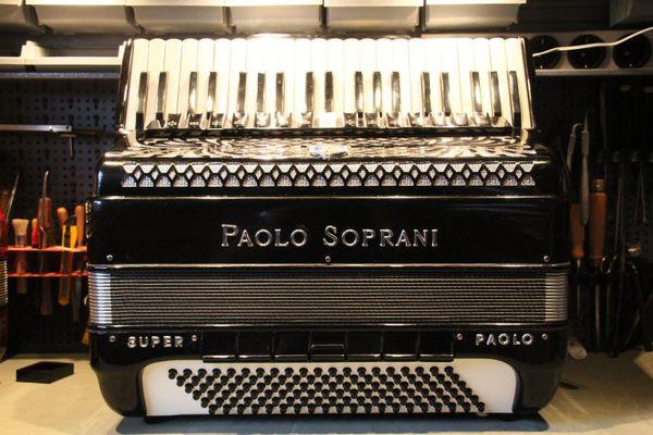 Pianoakkordeon Paolo Soprani 120 Bass