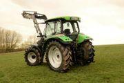 Schlepper Traktoren Deutz K100 Frontlader
