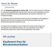 Kaufmann für Bürokommunikation m w