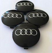 4x Audi Nabendeckel Nabenkappen Felgendeckel