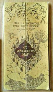 Harry Potter---Karte des Rumtreibers---der Hogwarts-Schule
