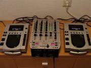 Professionelles DJ-Set
