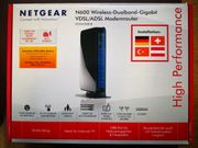 Netgear N600 Wireless-Dualband-Gigabit VDSL ADSL