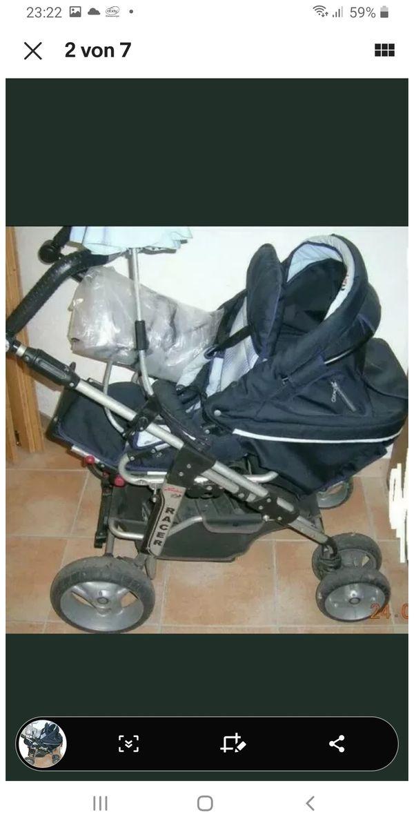 Harttan Racer Kinderwagen wendig und