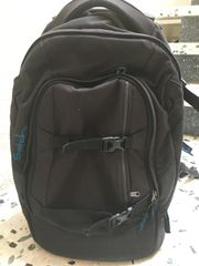 Verkaufe schwarzen Satch-Schulranzen Rucksack