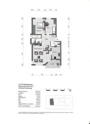 Hochwertige 3-Zimmer-Wohnung mit Blick ins