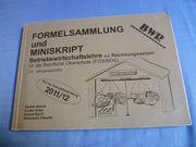 Formelsammlung und Miniskript BWR