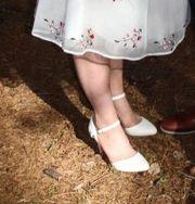 Schicke elegante Hochzeitsschuhe Größe 7