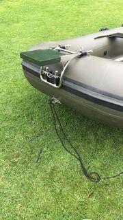 Angelboot Schlauchboot iBoat 400 grün