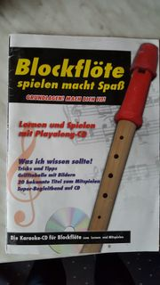 Blockflöte-Notenbücher CD