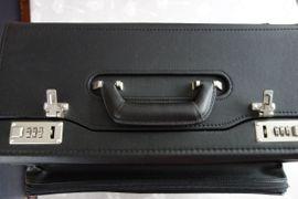 Taschen, Koffer, Accessoires - Pilotenkoffer Aktenkoffer schwarz 43 cm