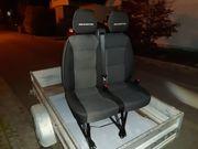 Fiat Ducato Beifahrersitz Sitzbank sehr
