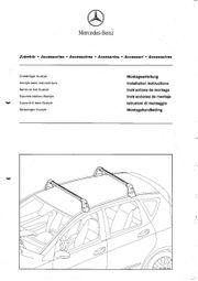 Grundträger Alustyle - Dachträger für Mercedes