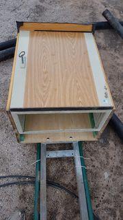 Holzschutzkasten für Baustrom Bauherren aufgepasst