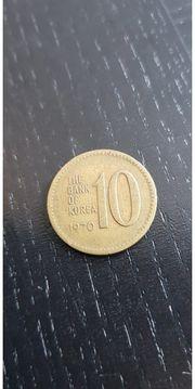 10 Won Südkorea 1970