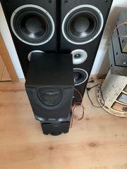 4 Stereoanlagen Boxen voll funktionsfähig