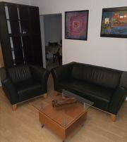 gemütliche IKEA-Couch Sessel Garnitur in