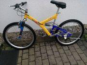 Ein sehr gut erhaltenes Fahrrad