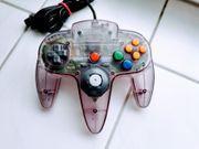 Nintendo N64 Controller Farbe Atomic
