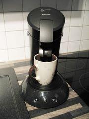 SENSEO Padmaschine Kaffeemaschine Philips schwarz
