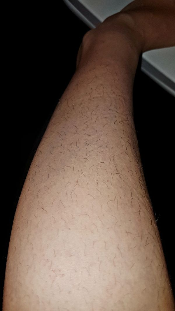 Fotos meiner haarigen Beine Fetisch