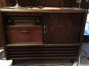 Antiker Phonoschrank aus den 50er