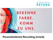 Personalreferent Recruiting m w d