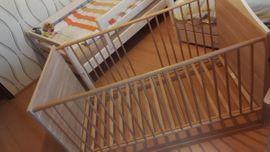 Wiegen, Babybetten, Reisebetten - Kombi-Kinderbett Dustin