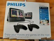 Philips tragbarer DVD Spieler für