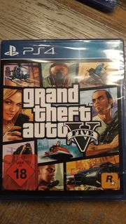 PS4 Spiel grand theft auto