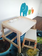 Kinder- Schreibtisch Hocker