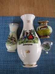 Konvolut Vasen Schwarzwald Memorabilia Souvenir