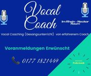 Vocal Coaching Gesangsunterricht