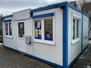 Büro Container 5x6m mit Sicherheitsglastüre
