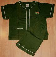 Sommer-Schlafanzug - Größe 110 - Shorty - Pyjama -