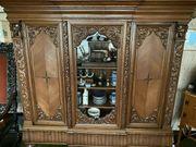 Herrenzimmer Gründerzeit Eiche aus Schrank