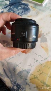 Objektiv Canon 50 mm 1
