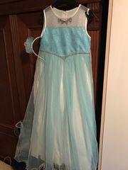 Mädchen Kleid bzw Kostüm 7-9