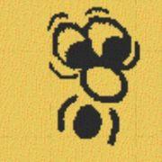Vorlage für Ministeck Smiley7 40x40cm