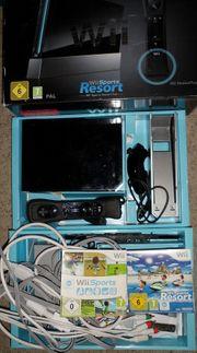 Nintendo Wii schwarz Sports Resort