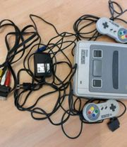 Super Nintendo mit spielen