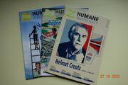 Drei Zeitschriften Humane Wirtschaft