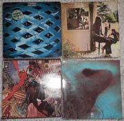 Schallplatten LPs versch Interpreten sowie
