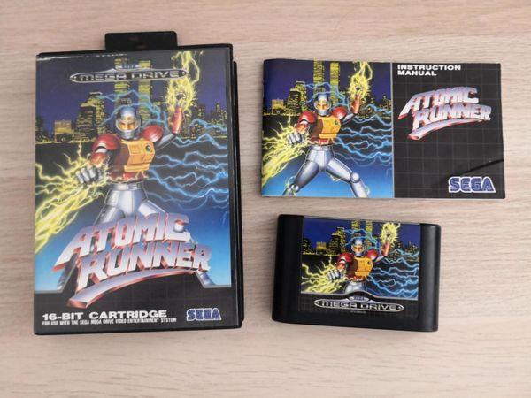 Sega Mega Drive Spiel Atomic