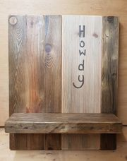 Holzregal Handgefertigt
